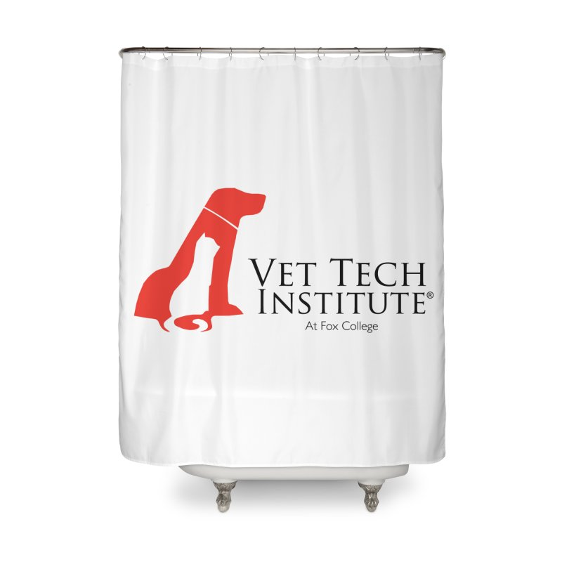 VTI Program Home Shower Curtain by OFFICIAL FOX COLLEGE SPIRIT STORE