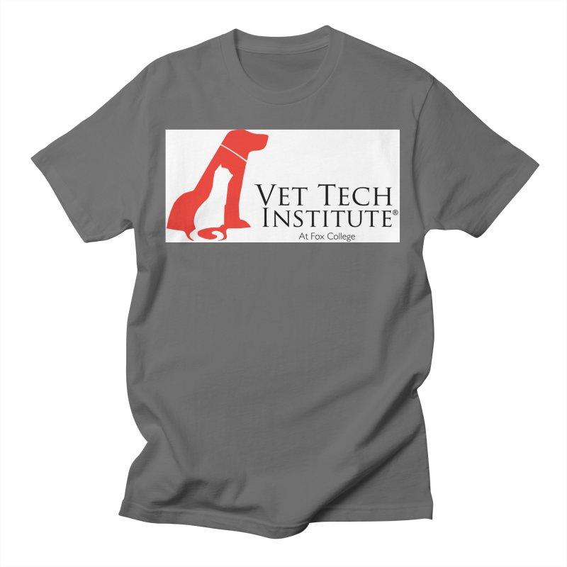 VTI- (White Variation) Men's T-Shirt by OFFICIAL FOX COLLEGE SPIRIT STORE