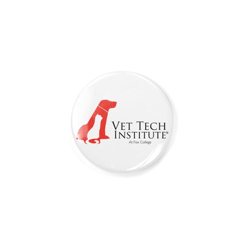 VTI- (White Variation) Accessories Button by OFFICIAL FOX COLLEGE SPIRIT STORE