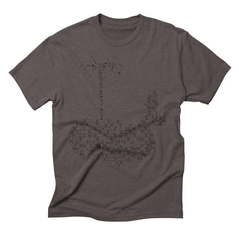 Tubalena Men's Triblend T-shirt by FrancescaDemaria's Artist Shop