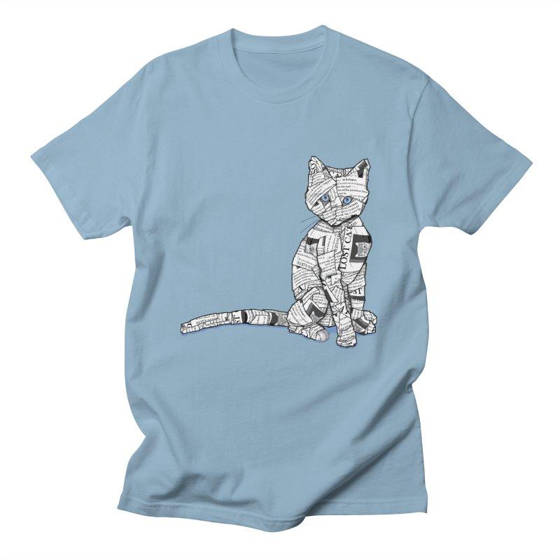 Keeping Tabbs Men's T-Shirt by Frankplastic's Artist Shop