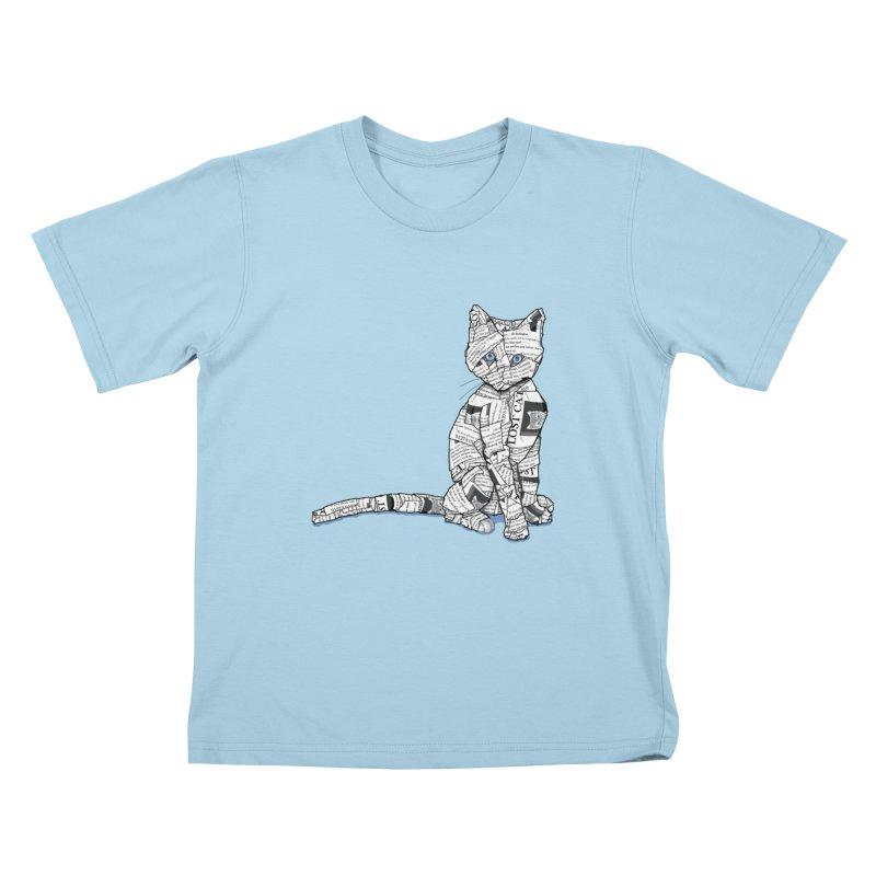 Keeping Tabbs Kids T-Shirt by Frankplastic's Artist Shop