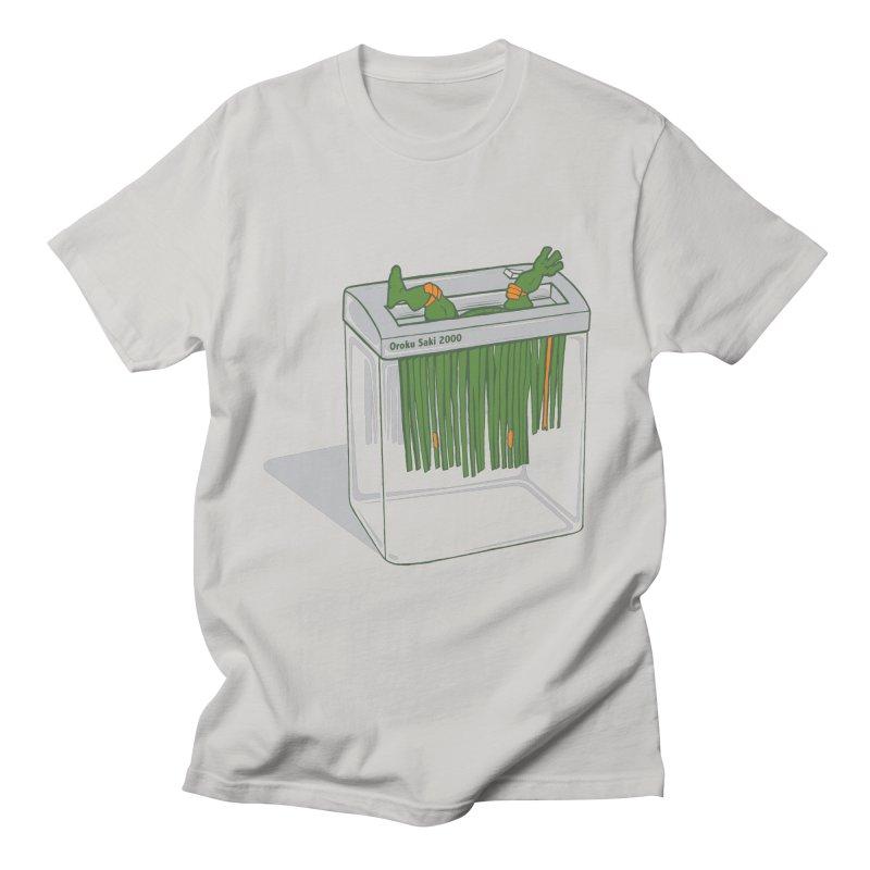 Shredder Got To Michelangelo Men's T-Shirt by Frankplastic's Artist Shop