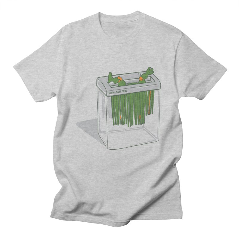 Shredder Got To Michelangelo Men's T-Shirt by Frankplastic's Artist Shop