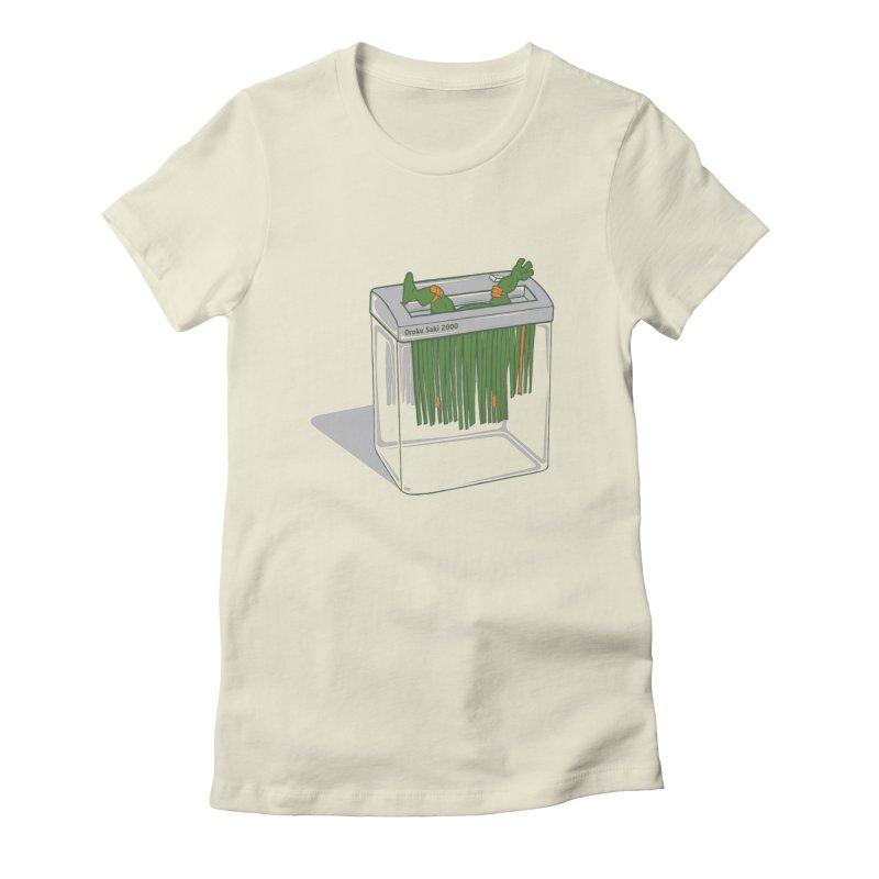 Shredder Got To Michelangelo Women's T-Shirt by Frankplastic's Artist Shop