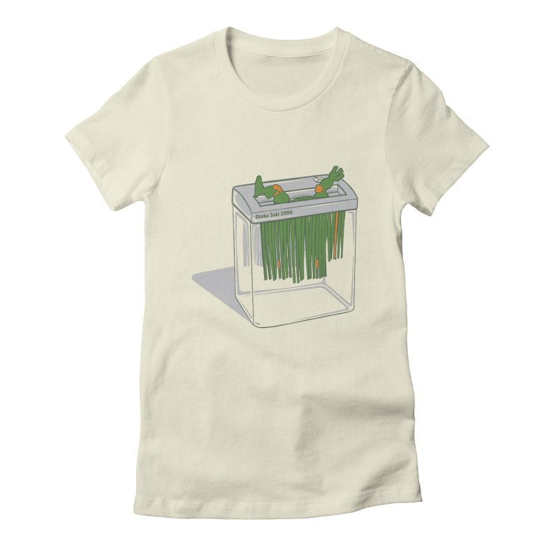 Shredder Got To Michelangelo Women's T-Shirt by Frankplastic's Artist Shop
