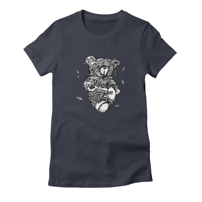 Teddy Bubbles Women's T-Shirt by Frankplastic's Artist Shop