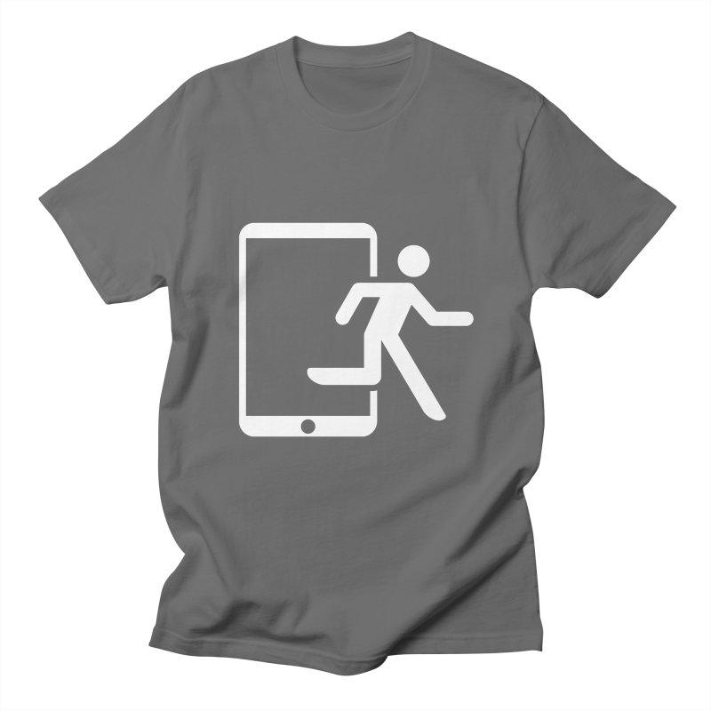 Device Escape Men's T-Shirt by Frankplastic's Artist Shop