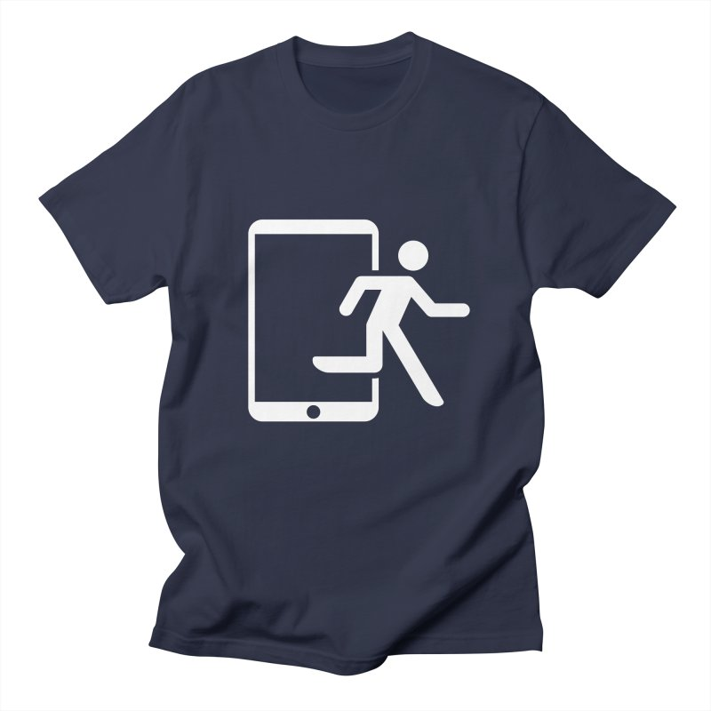 Device Escape Men's T-Shirt by Frankplastic's Artist Shop
