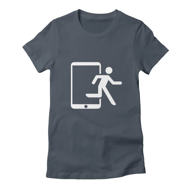 Device Escape Women's T-Shirt by Frankplastic's Artist Shop