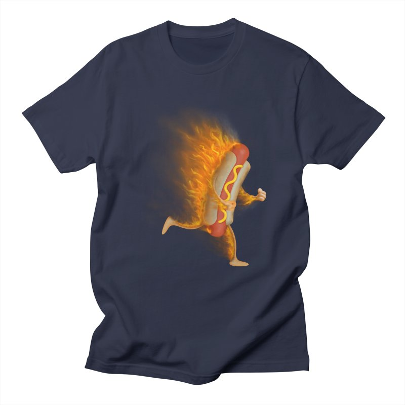 Flamin' Hot Dog   by Frankplastic's Artist Shop