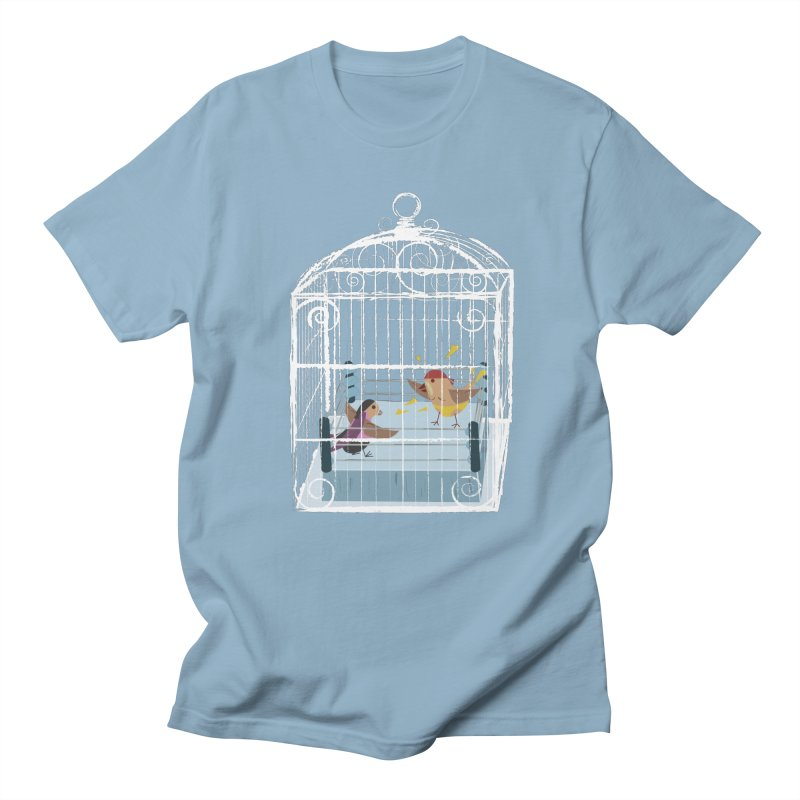 Classic Cage Fight Men's T-Shirt by Frankplastic's Artist Shop