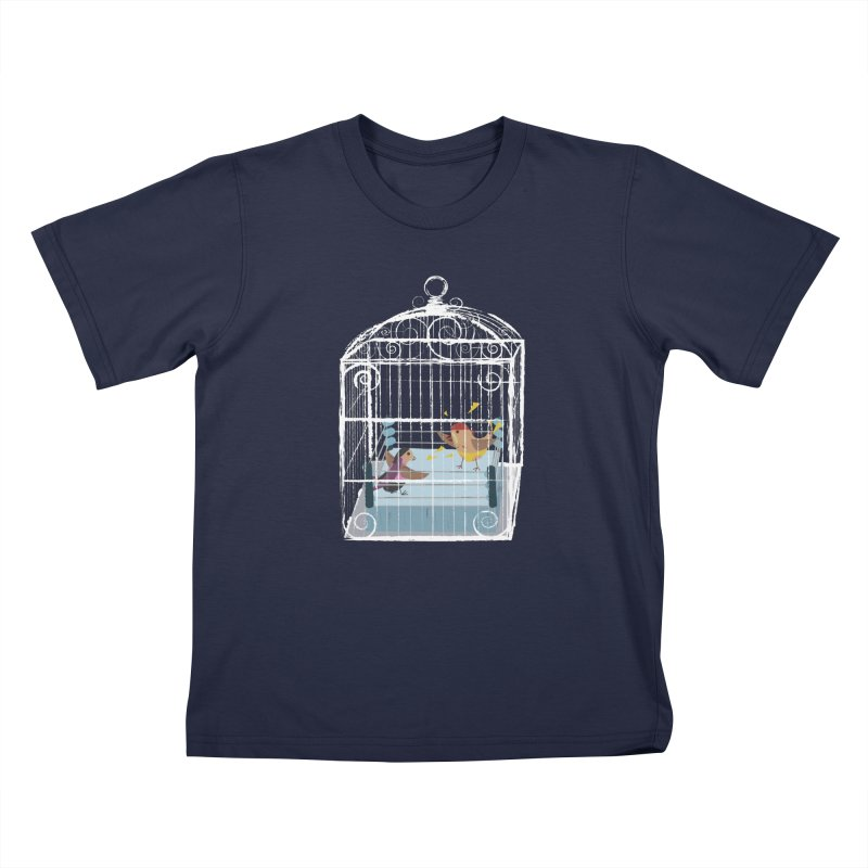 Classic Cage Fight Kids T-Shirt by Frankplastic's Artist Shop