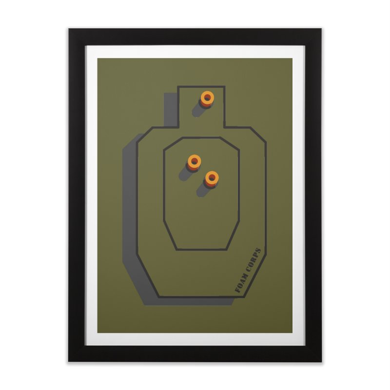 Foam Corps Home Framed Fine Art Print by Fredtee's Artist Shop