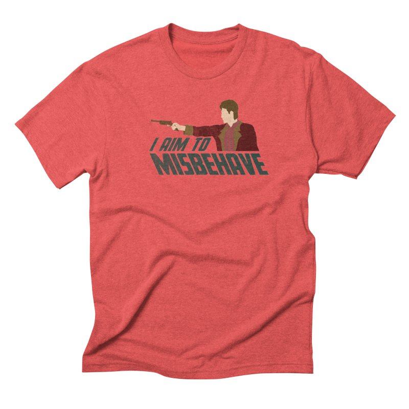 I Aim To Men's Triblend T-shirt by Fredtee's Artist Shop