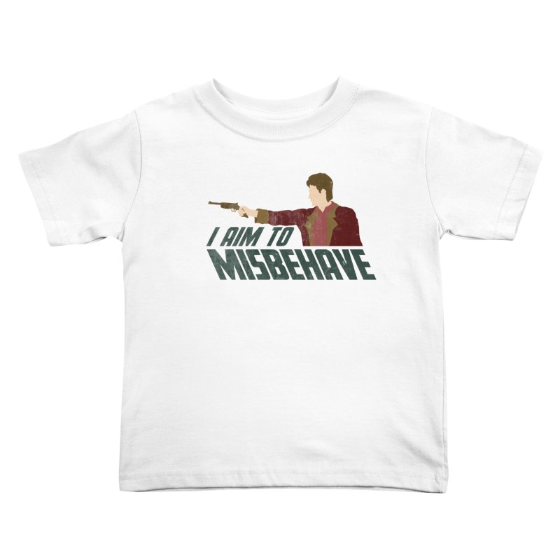 I Aim To Kids Toddler T-Shirt by Fredtee's Artist Shop