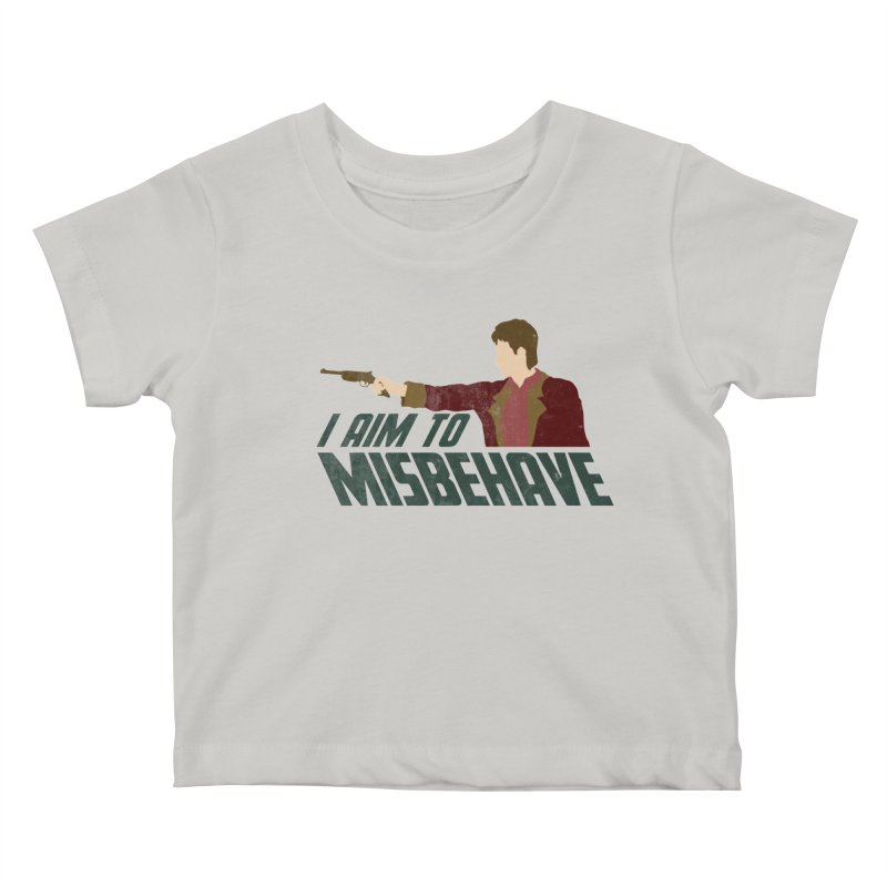 I Aim To Kids Baby T-Shirt by Fredtee's Artist Shop
