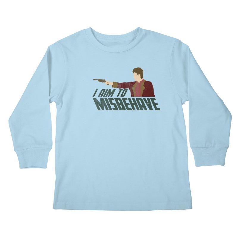 I Aim To Kids Longsleeve T-Shirt by Fredtee's Artist Shop