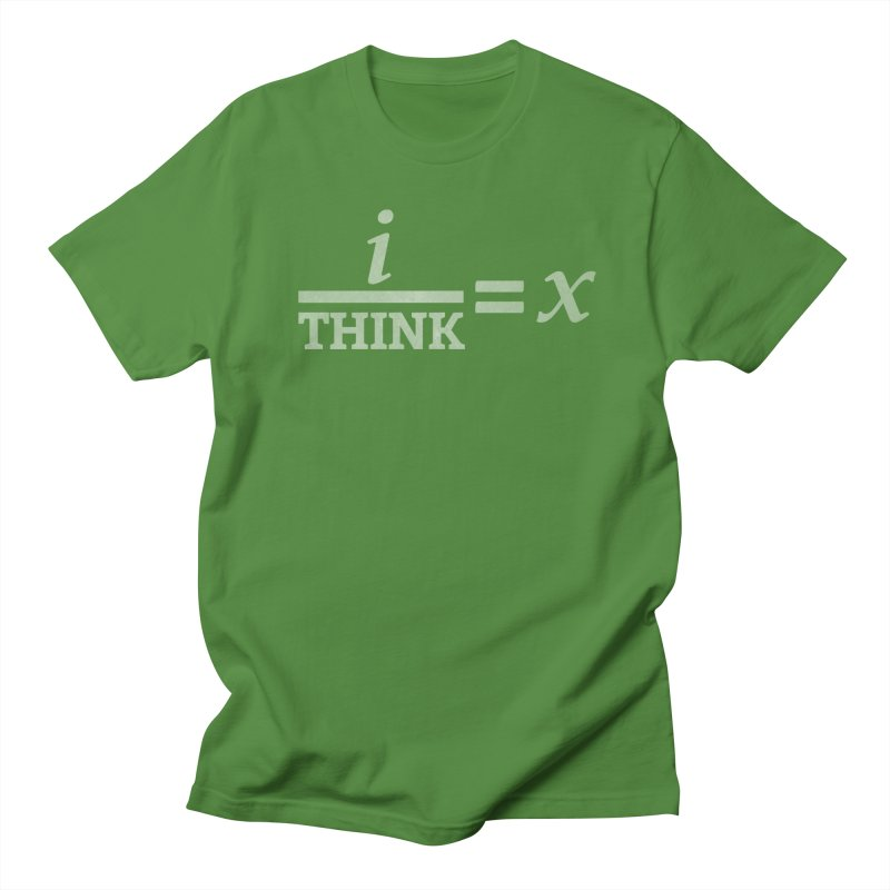 i/Think Men's T-shirt by Fredtee's Artist Shop
