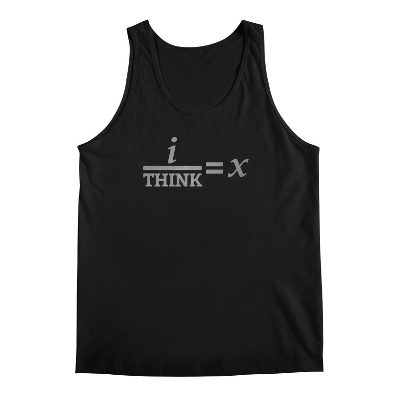 i/Think Men's Tank by Fredtee's Artist Shop