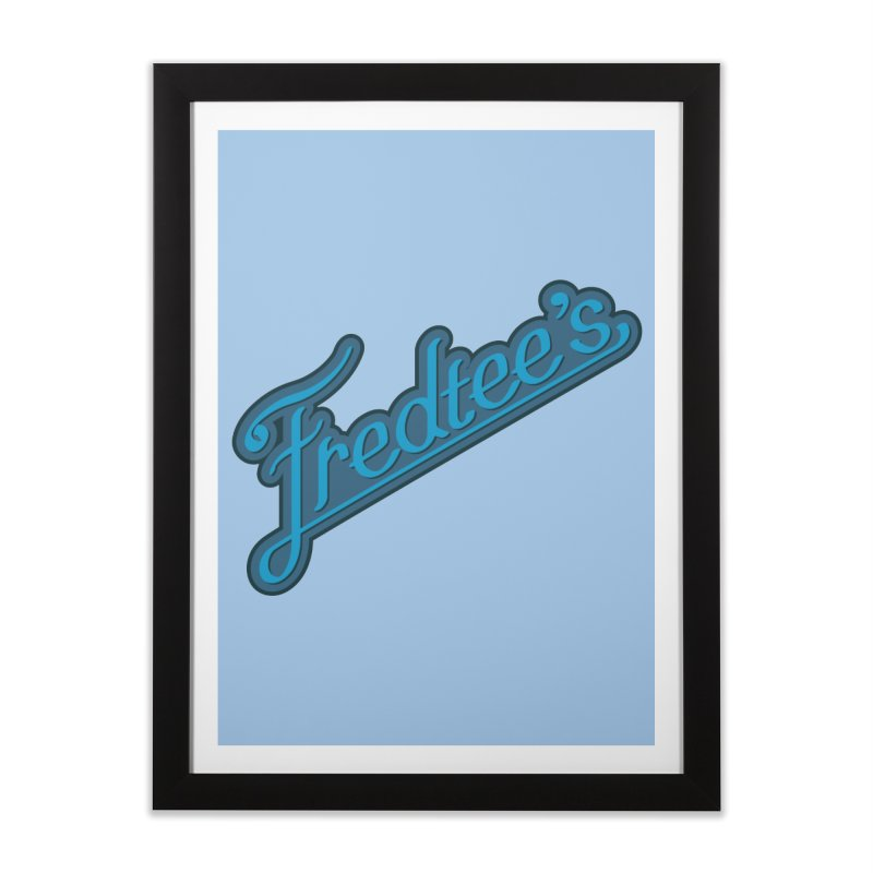 Fredtee's Mens Home Framed Fine Art Print by Fredtee's Artist Shop