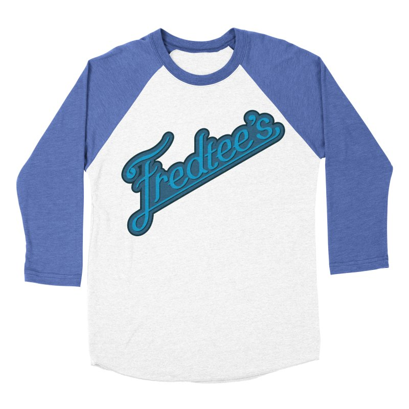 Fredtee's Mens Men's Baseball Triblend T-Shirt by Fredtee's Artist Shop