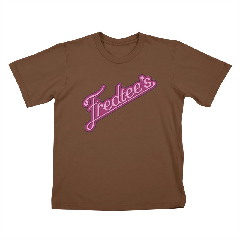Fredtee's Kids T-shirt by Fredtee's Artist Shop