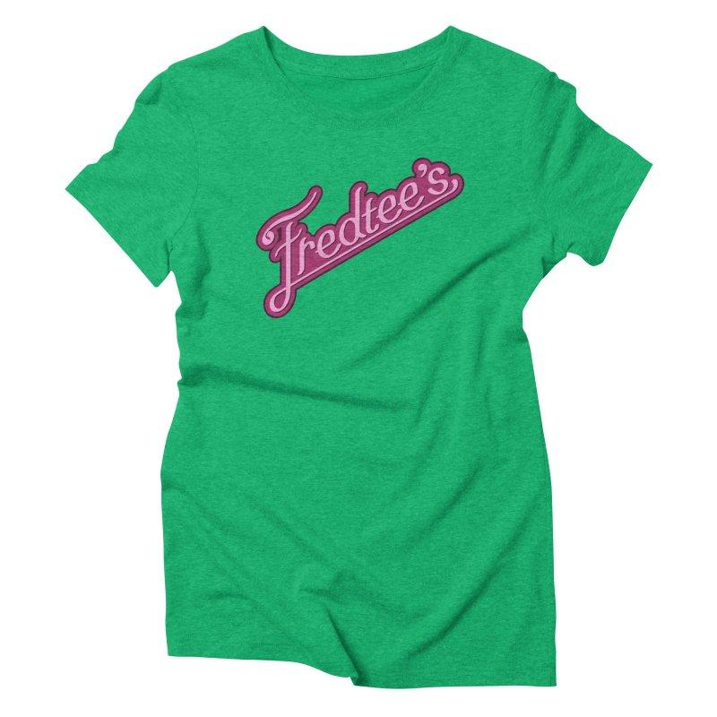Fredtee's Women's Triblend T-shirt by Fredtee's Artist Shop