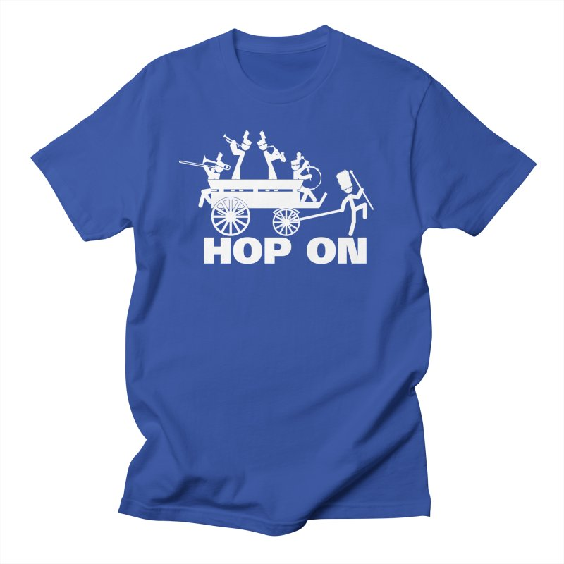 Band Wagon Men's T-shirt by Fredtee's Artist Shop
