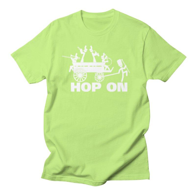 Band Wagon Men's T-shirt by Fredtee's Artist Shop