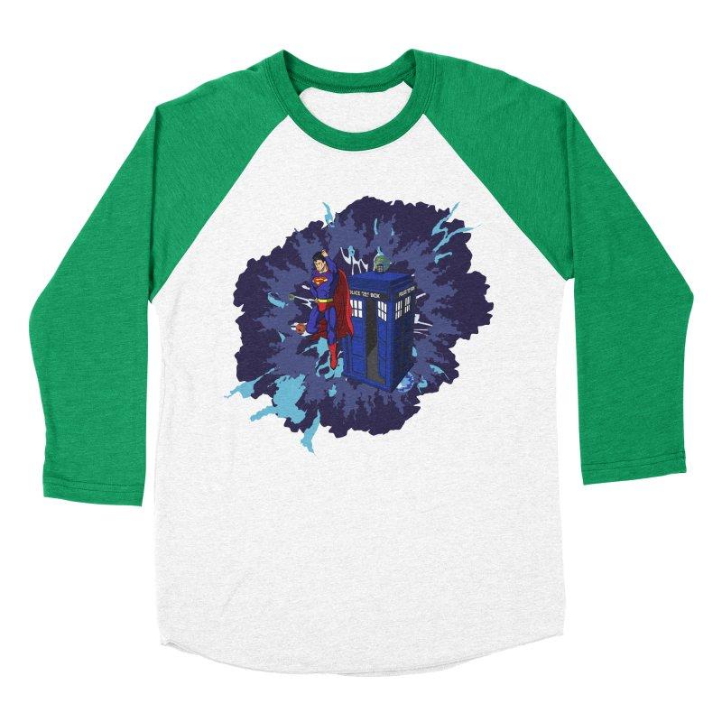 Super Who? Women's Baseball Triblend T-Shirt by Fredtee's Artist Shop