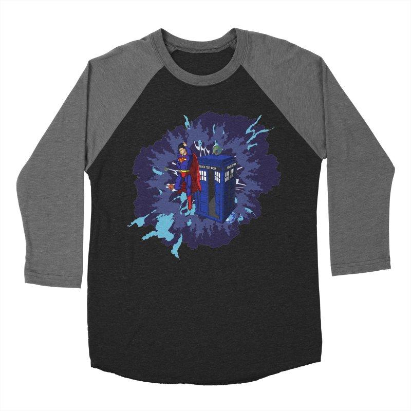 Super Who? Men's Baseball Triblend T-Shirt by Fredtee's Artist Shop