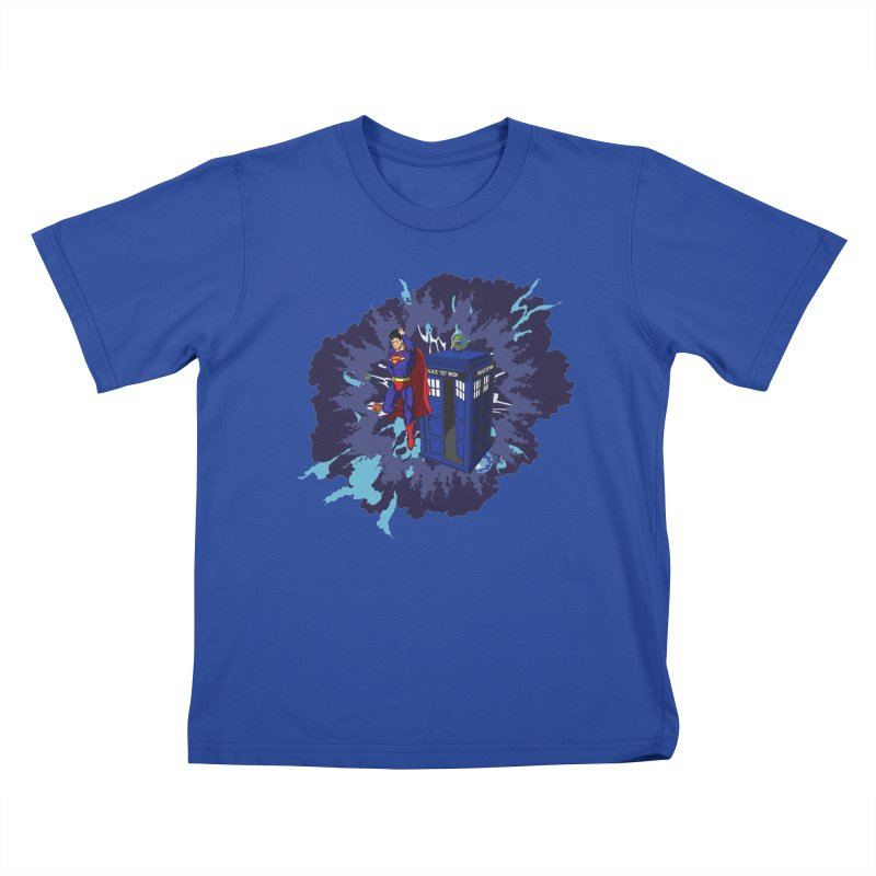 Super Who? Kids T-shirt by Fredtee's Artist Shop