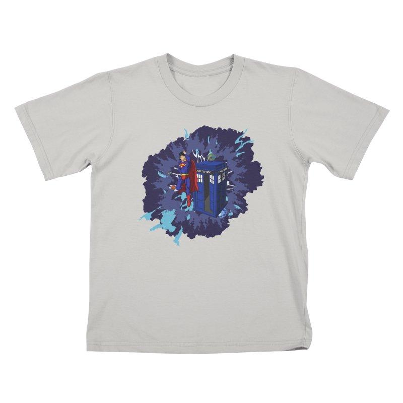 Super Who? Kids T-Shirt by Fredtee's Artist Shop
