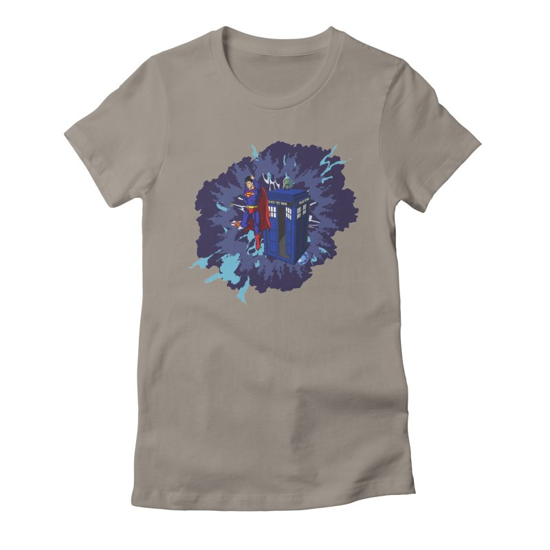 Super Who? Women's Fitted T-Shirt by Fredtee's Artist Shop