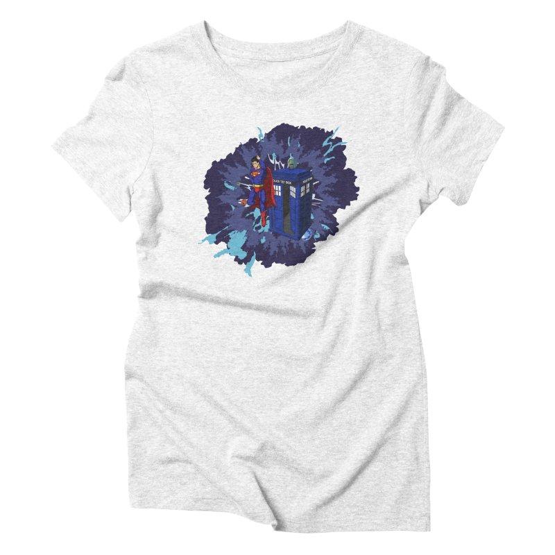 Super Who? Women's Triblend T-shirt by Fredtee's Artist Shop