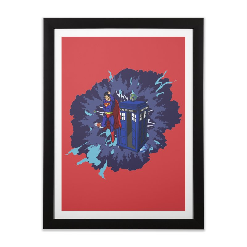 Super Who? Home Framed Fine Art Print by Fredtee's Artist Shop