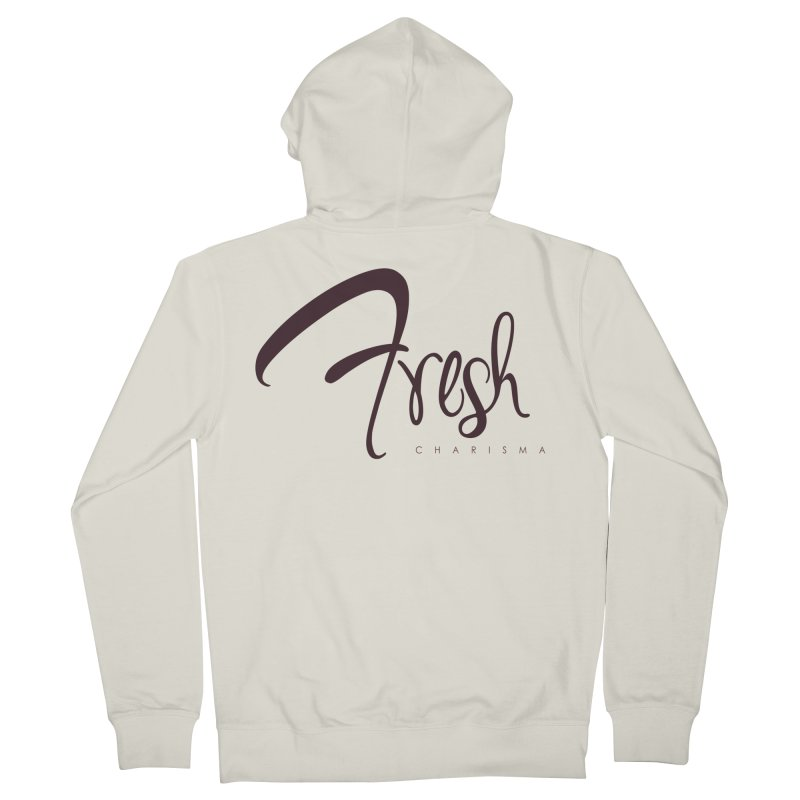 Fresh Charisma Classic Men's French Terry Zip-Up Hoody by God's Closet