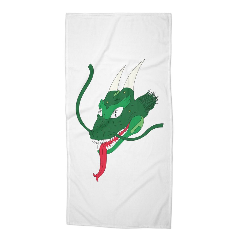 Solan Dragon Accessories Beach Towel by FromRiley's Artist Shop