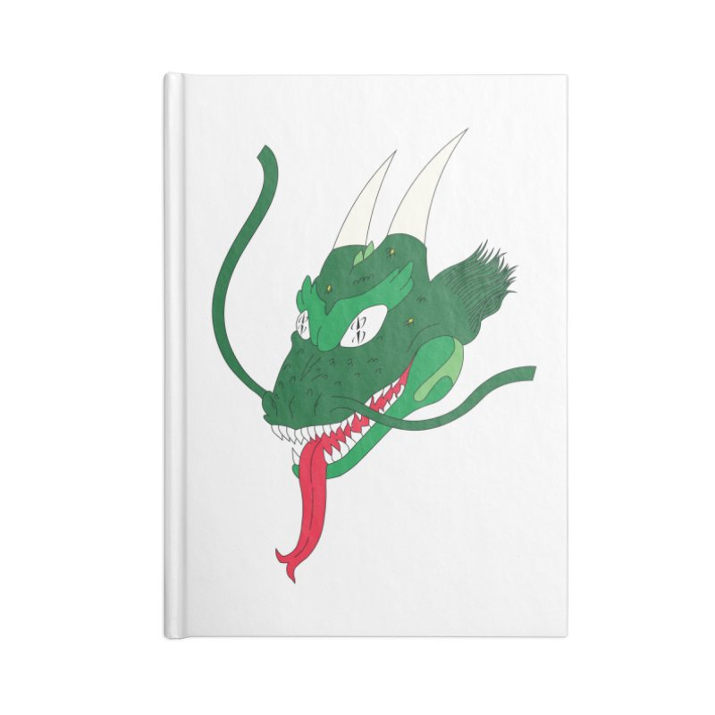 Solan Dragon Accessories Notebook by FromRiley's Artist Shop