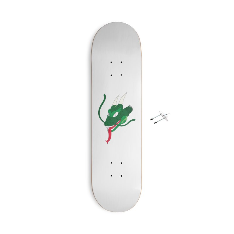 Solan Dragon Accessories Skateboard by FromRiley's Artist Shop