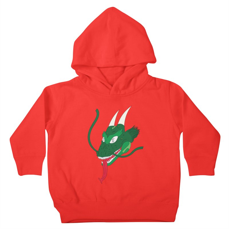 Solan Dragon Kids Toddler Pullover Hoody by FromRiley's Artist Shop