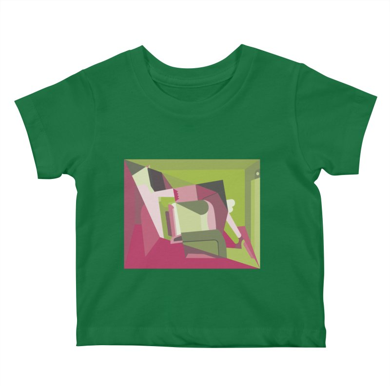 Leg Beater No. 3 Kids Baby T-Shirt by FromRiley's Artist Shop