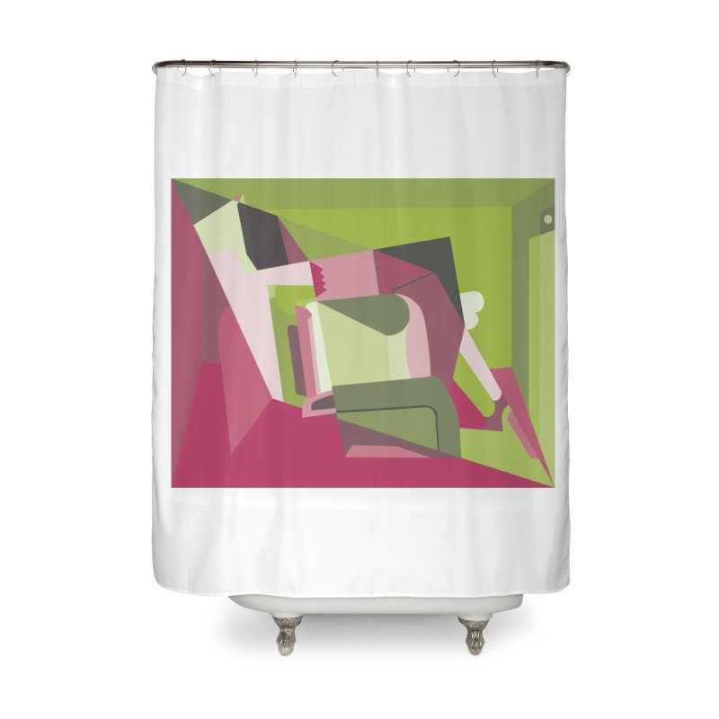 Leg Beater No. 3 Home Shower Curtain by FromRiley's Artist Shop