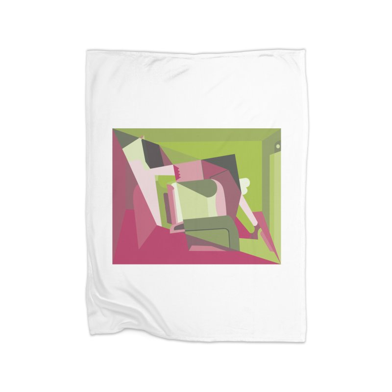 Leg Beater No. 3 Home Blanket by FromRiley's Artist Shop