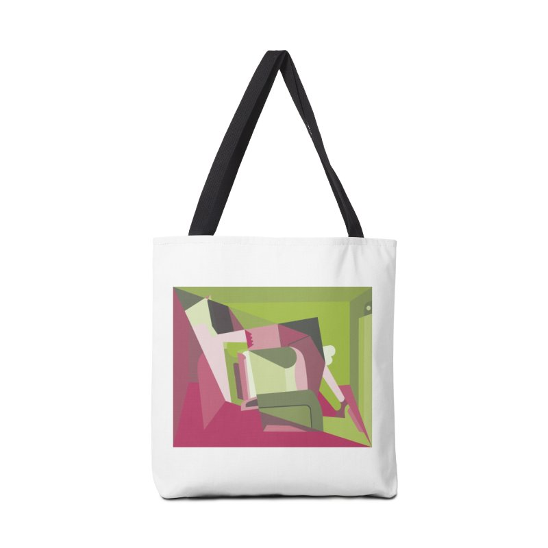Leg Beater No. 3 Accessories Bag by FromRiley's Artist Shop