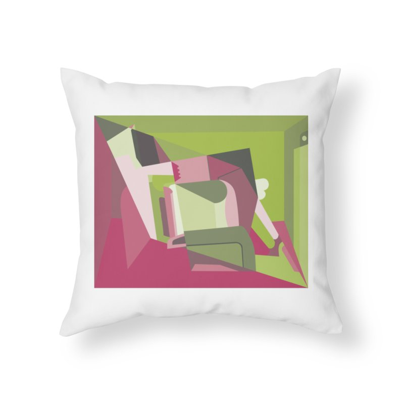 Leg Beater No. 3 Home Throw Pillow by FromRiley's Artist Shop