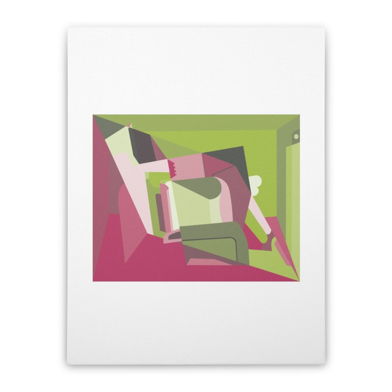 Leg Beater No. 3 Home Stretched Canvas by FromRiley's Artist Shop
