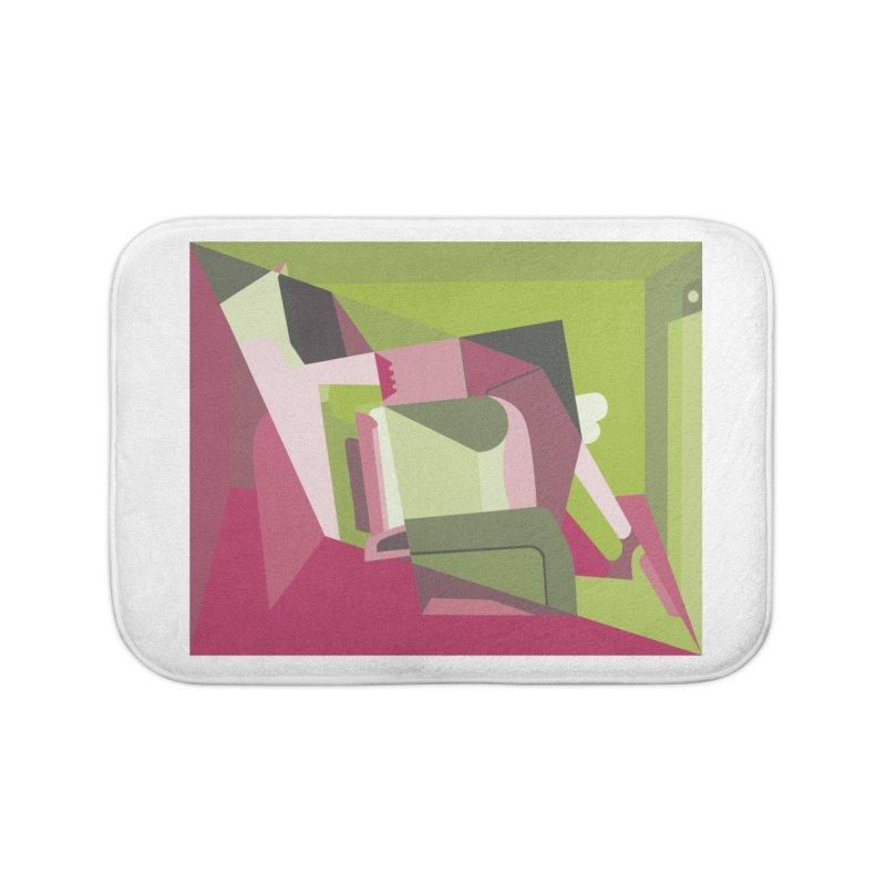 Leg Beater No. 3 Home Bath Mat by FromRiley's Artist Shop