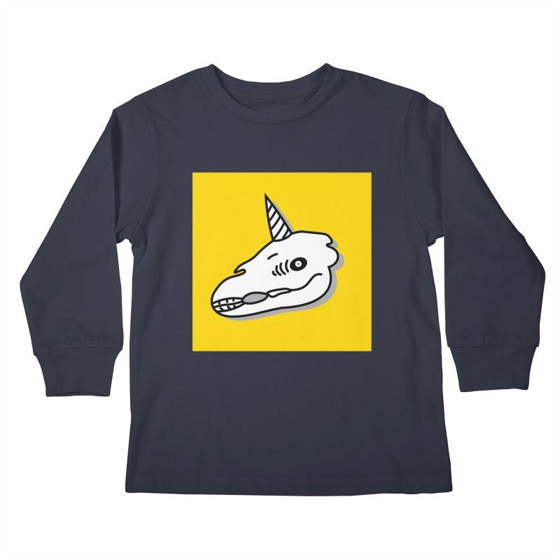 Nordic Horde Kids Longsleeve T-Shirt by FromRiley's Artist Shop